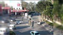 Kural tanımayan sürücüler mobese kameralarına yakalandı
