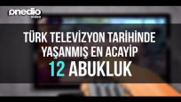 Türk Televizyon Tarihinde Yaşanmış En Acayip 12 Abukluk